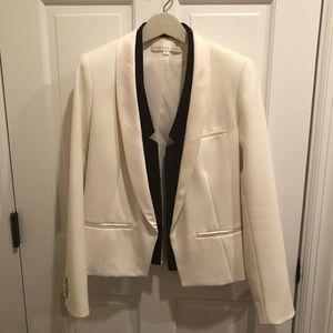Veronica Beard: white jacket